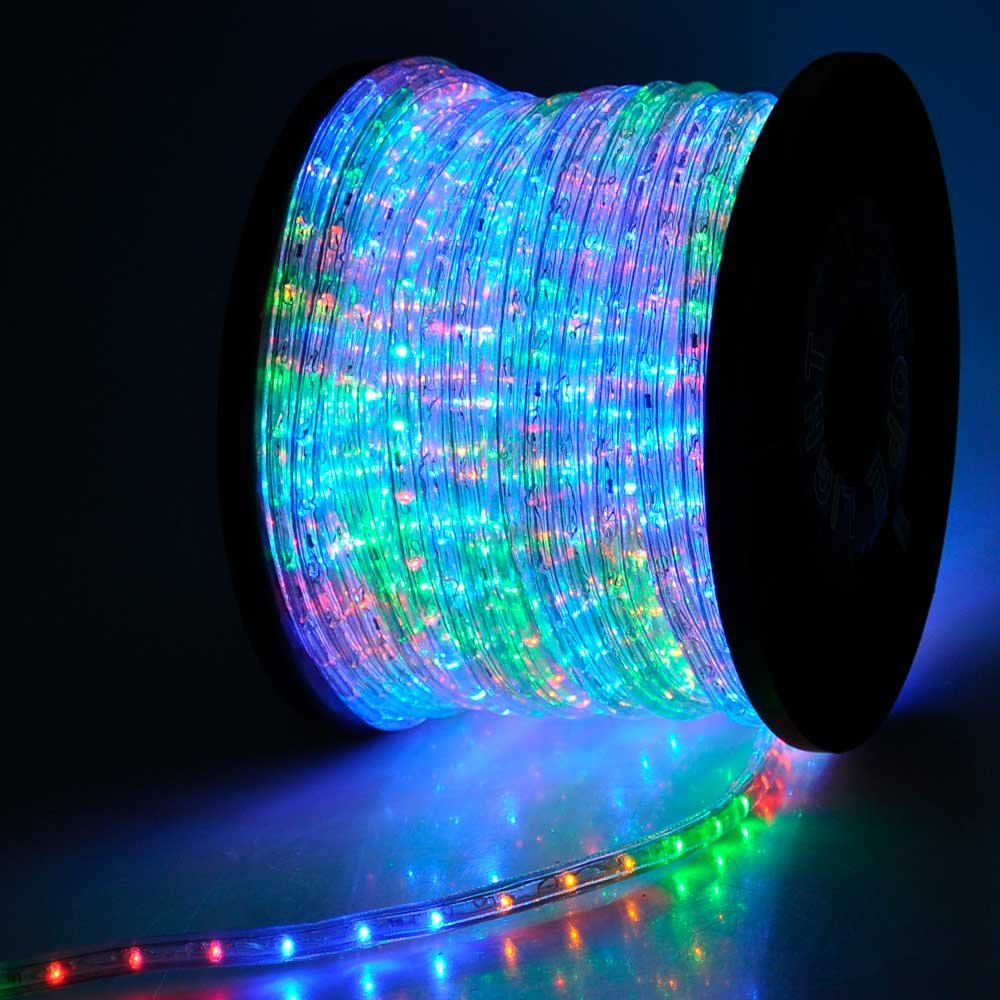 Amazon rainbow 2 wire outdoor home indoor cuttable led rope amazon rainbow 2 wire outdoor home indoor cuttable led rope light 150ft musical instruments aloadofball Choice Image