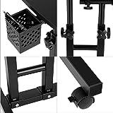 Fashine Rolling Adjustable Free Lift Laptop Stand