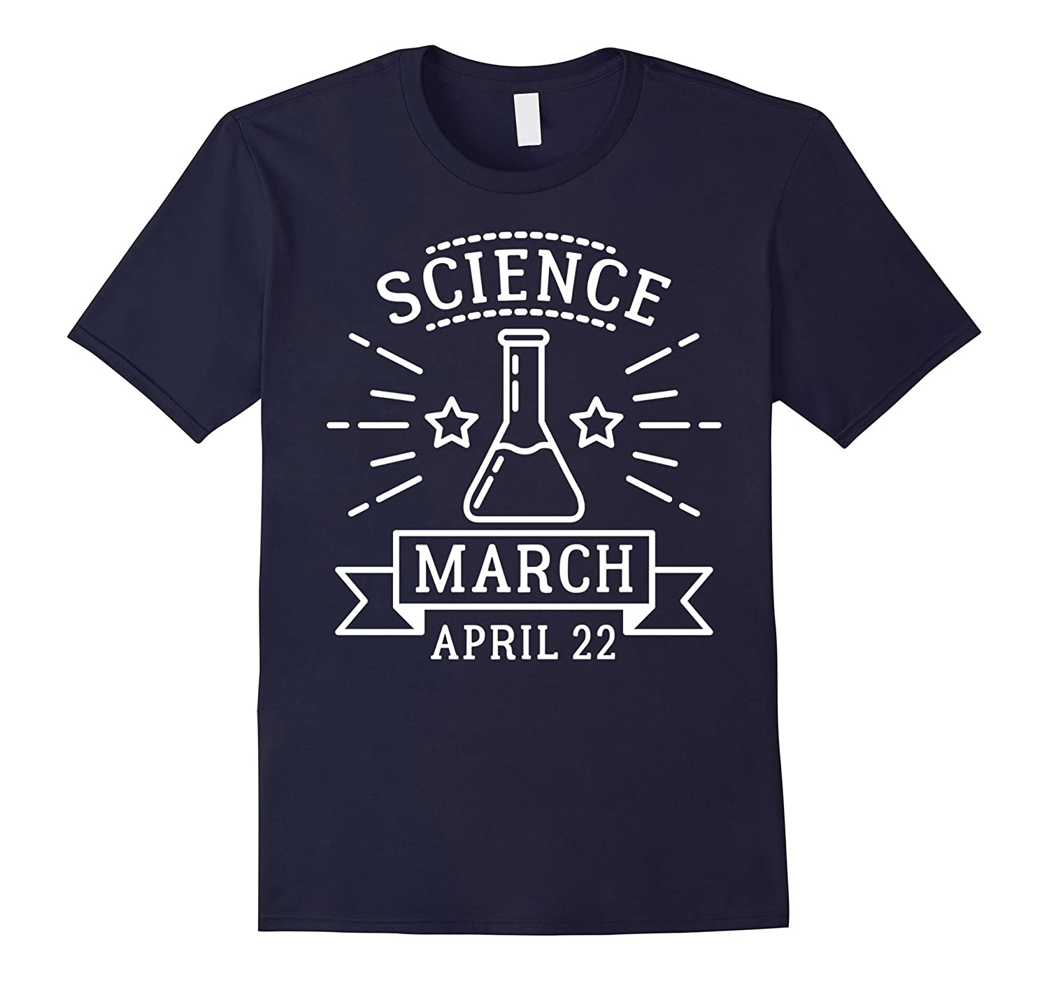 Science is That is True March T-Shirt-TD