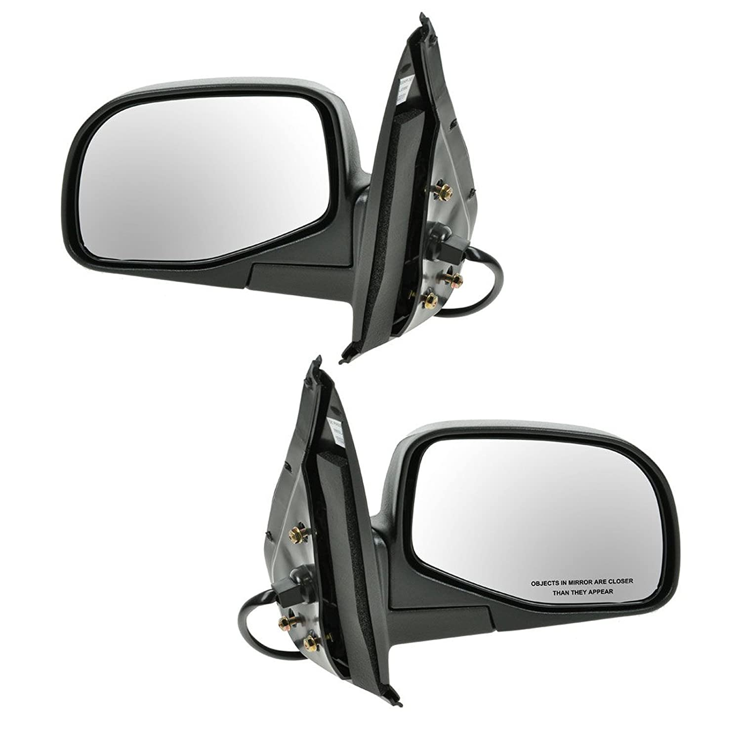 Power w//Puddle Light Side Mirrors Pair Set Left LH /& Right RH for Ford Explorer