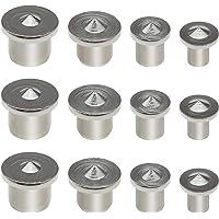 12 stks Houtbewerking Deuvel Pin Center Punten Set 6mm 8mm 10mm 12mm Locator voor Houtwerk Boor Uitlijning Gereedschap…