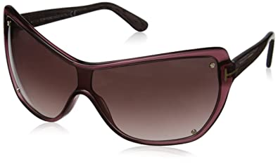 e60a368b8ea Amazon.com  Tom Ford Ekaterina Bordeaux   Purple Gradient Sunglasses ...