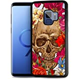 for Samsung S9, Galaxy S9, Durable Protective Soft Back Case Phone Cover, HOT12201 Sugar Skull