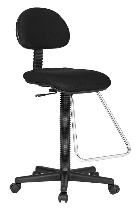 Studio Designs Maxima II Drafting Chair in Black 18622