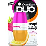 ChapStick DUO Wild Raspberry & Citrus 0.388 oz (Pack of 2)