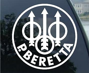 Amazoncom Beretta Firearms Car Window Vinyl Decal Sticker - Window decal stickers for cars