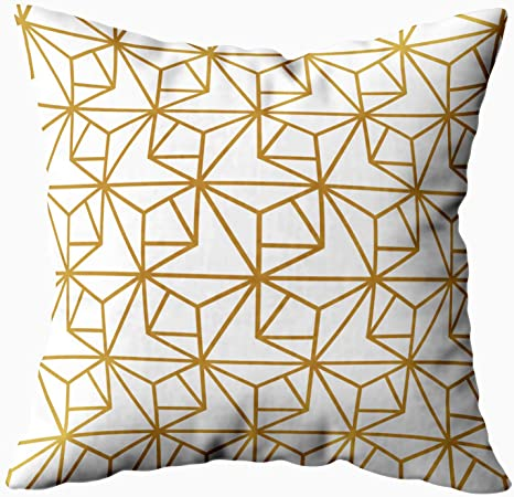 TOMKEYS Throw Pillow Cover Yellow