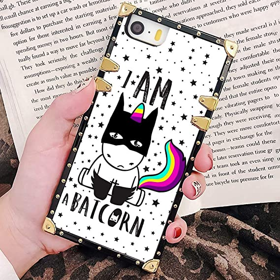 Amazon Com Bonoma Cute Background Unicorn Wallpaper Phone Case For