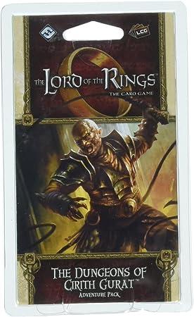Fantasy Flight Games FFGMEC60 The Dungeons of Cirith Gurat Adventure Pack: El Señor de los Anillos LCG Exp, Multicolor: Amazon.es: Juguetes y juegos