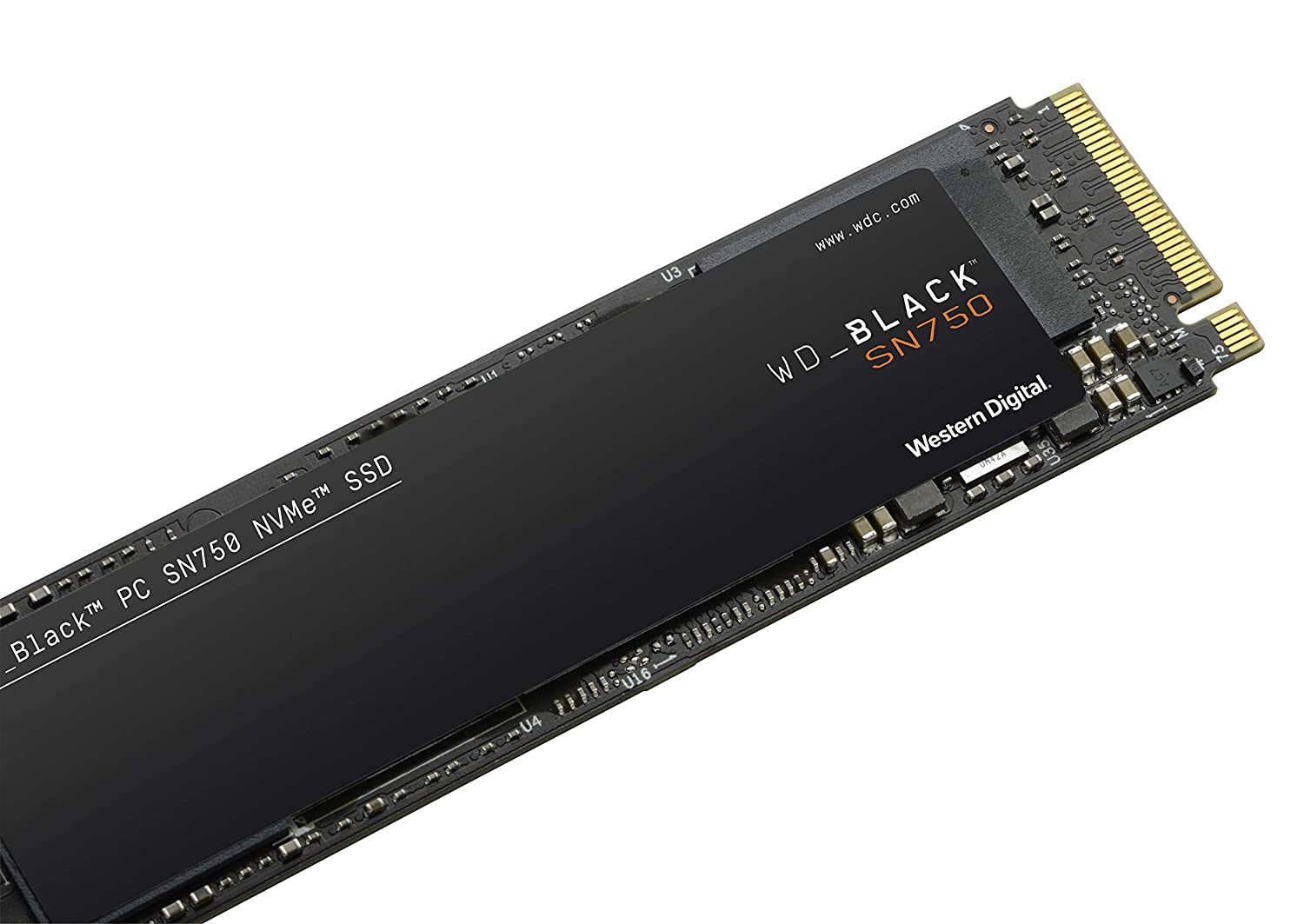 WD_Black SN750 250GB NVMe Internal Gaming SSD - Gen3 PCIe, M.2 2280, 3D NAND - WDS250G3X0C