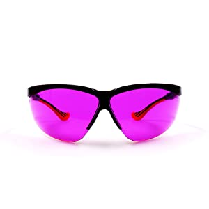 Oxy-Iso Blood Draw and Color Blindness Glasses, Sport Frame