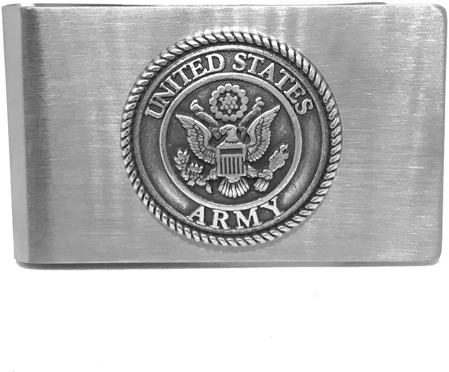 Cigar Cutters by Jim Money Clip Custom Designed French-Fold Money Clip in Brushed Stainless Steel
