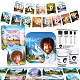 Bob Ross Classic Party Supplies Set | Themed Decorations and Recyclable Tableware | Serves 8 (Standard Pack) by Prime Party