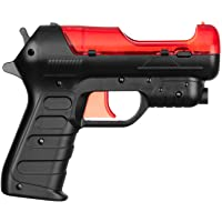 OSTENT Light Gun Shooter Pistol PS Move Motion Controller Compatible for Sony PS3 Shooting Game