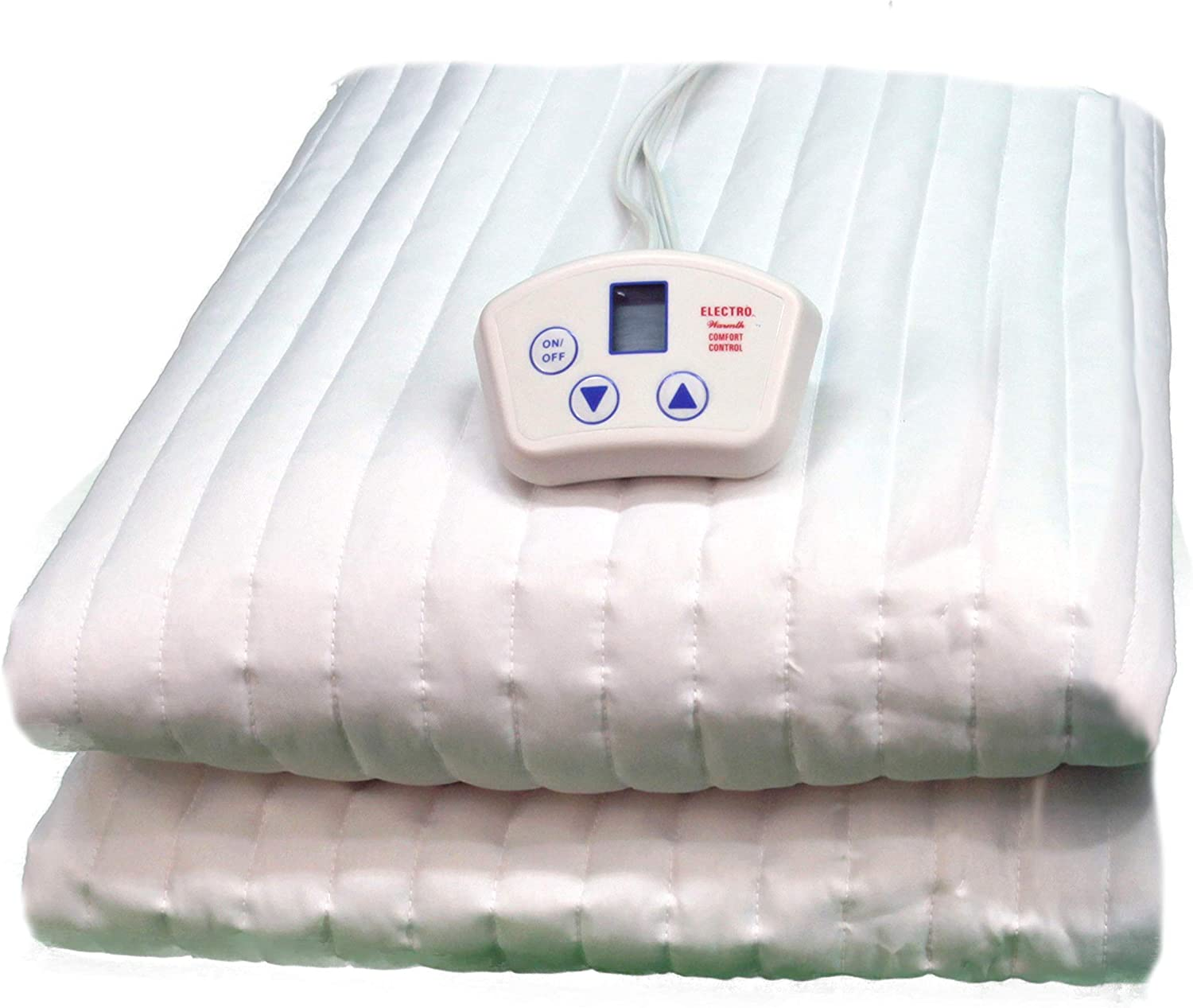 Electrowarmth M54Fd Double Full Two Controls Heated Mattress Pad Renewed 54-Inch by 74-Inch
