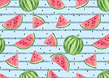 Zhy Watermelon Backdrop 7X5FT Vintage Wooden Board Summer Family Party Photography Backdrop YouTube Photo Studio Prop Customize LLST277