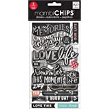 Me & My Big Ideas Chipboard Value Pack, Chalk, Sweet Memories
