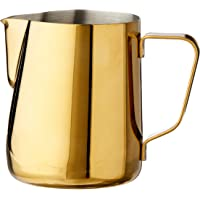 Rhino Coffee Gear Pro Milk Pitcher Pro Milk Pitcher, 360ml, Gold, RHGLD12OZ