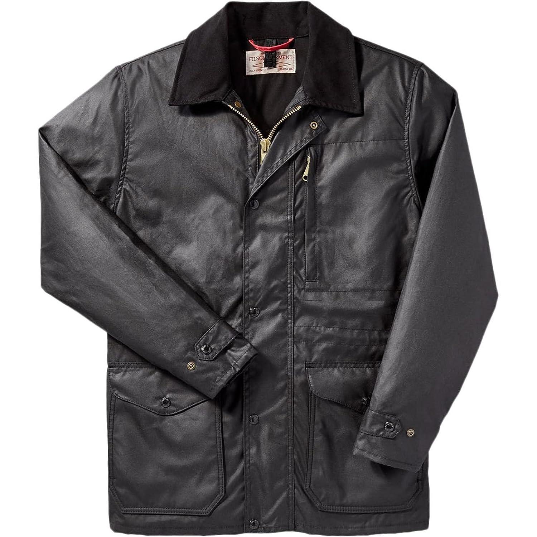 フィルソン アウター ジャケット&ブルゾン Filson Cover Cloth Mile Marker Coat Se Black p7s [並行輸入品] B079FD37HQ  XL