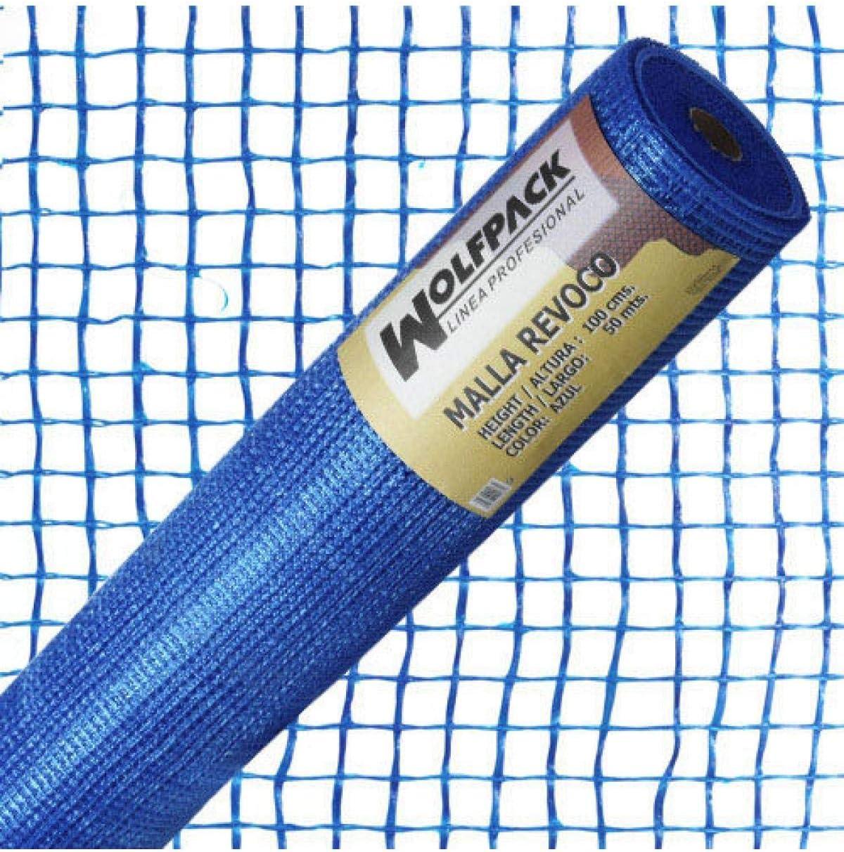 Wolfpack 1202100 Rouleau de filet Revoco Bleu 50 x 1 m 10 x 10 mm.
