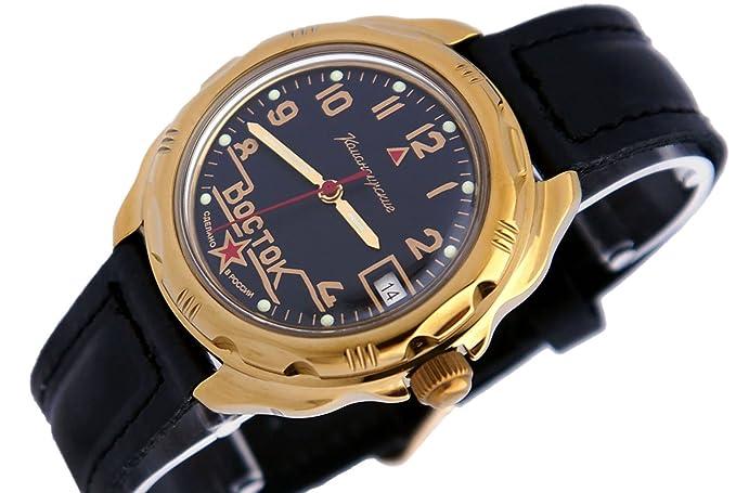 Vostok KOMANDIRSKIE Militar ruso reloj Comandante Ministerio caso 2414/219524: Amazon.es: Relojes