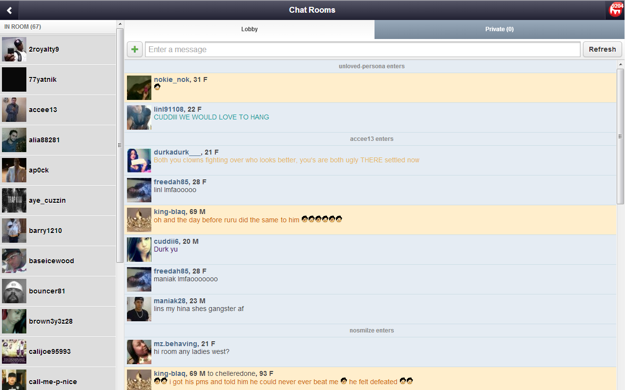 Moco chat site