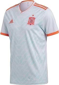 adidas Spain Away Replica Jersey Camiseta Cuello de Pico Manga Corta Poliéster - Camisas y Camisetas (Camiseta, Niños, Masculino, Azul, Rojo, Blanco, Estampado, Baby (Height)): Amazon.es: Ropa y accesorios