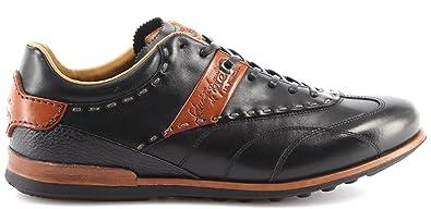 save off 79f28 43ee0 La Martina Herren Sneakers Schuhe L4040159 Buttero Nero ...
