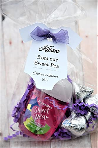 Amazon Com 10 Tags Kisses From Our Sweet Pea Baby Onesie Gift