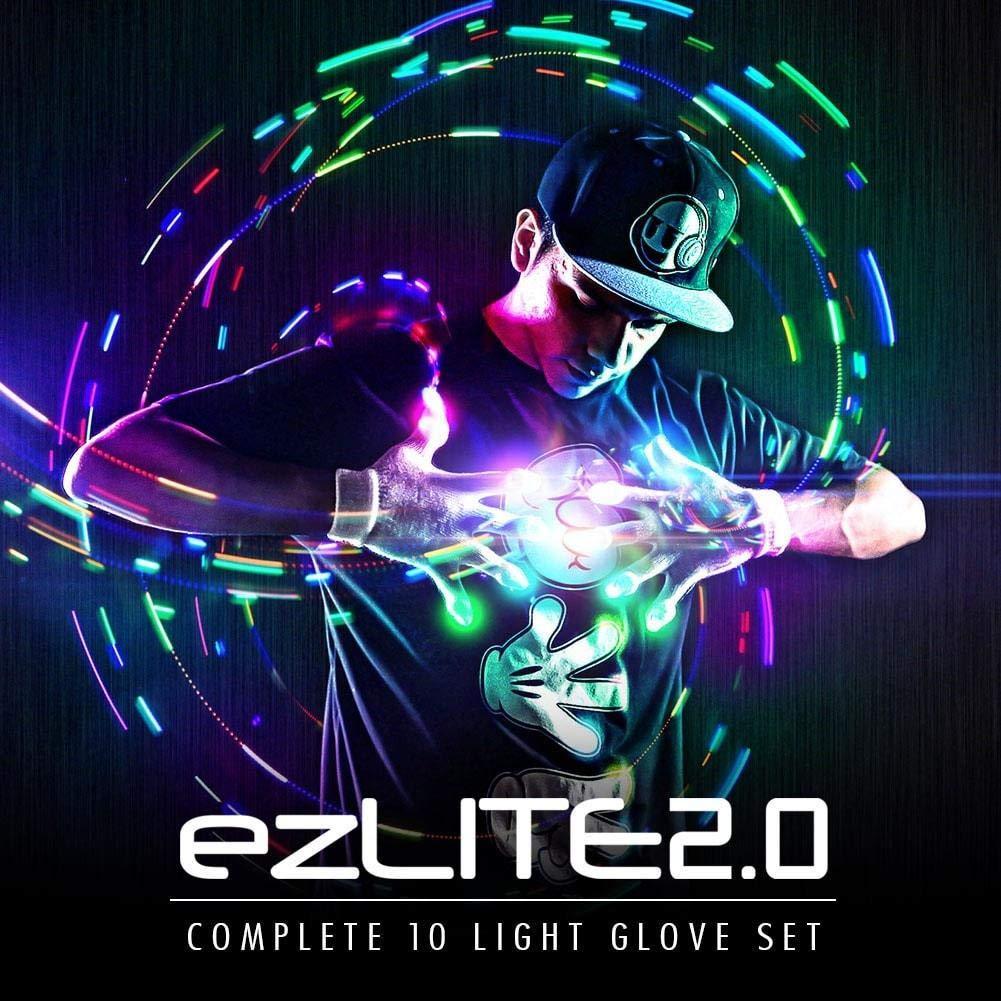 EmazingLights Elite ezLite 2.0 Light Up LED Gloves - #1 Leader in Gloving & Light Shows by EmazingLights (Image #4)
