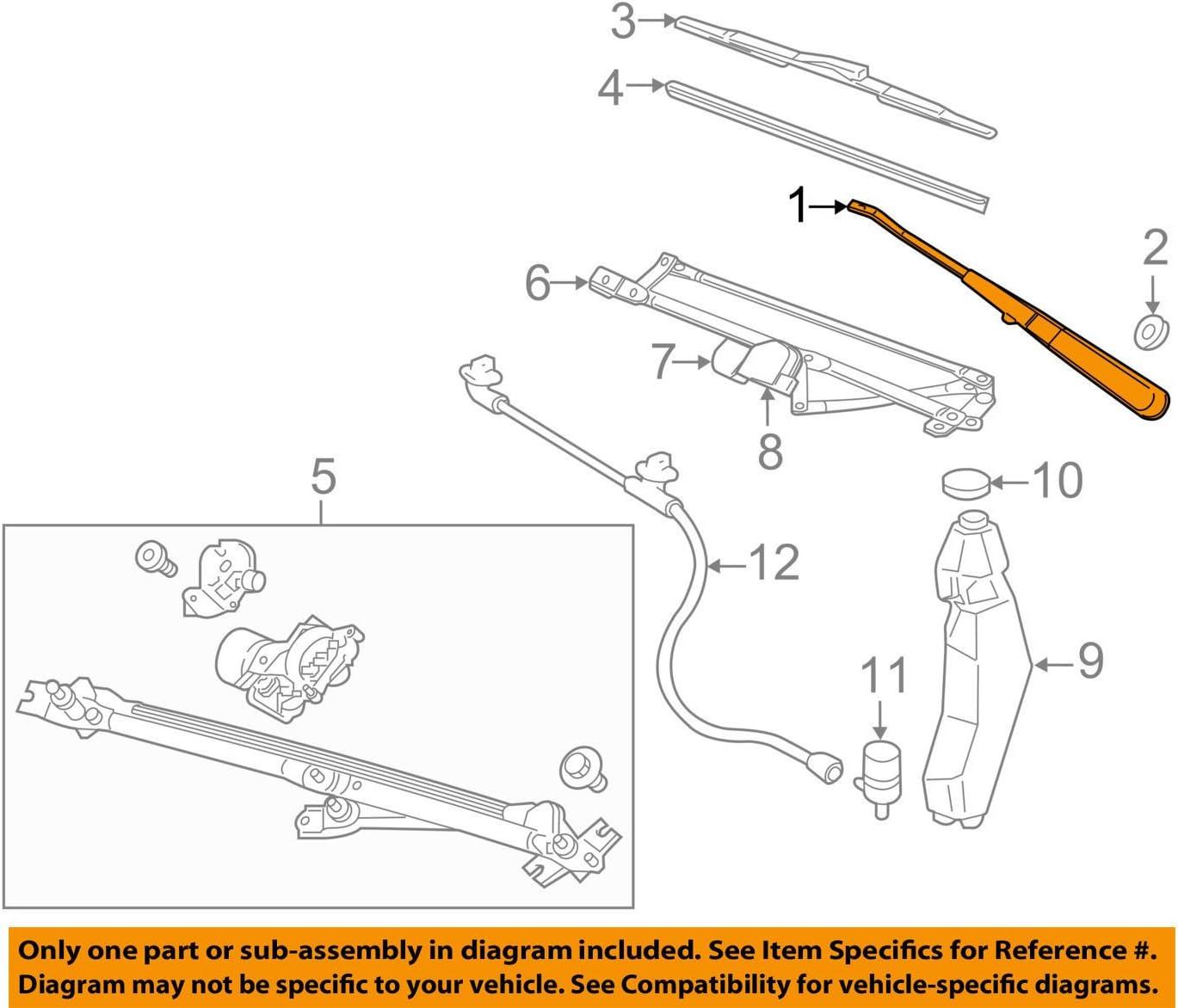 Genuine Hyundai 64501-33310 Fender Apron Panel Assembly