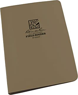 """product image for Rite in the Rain All-Weather 1/2"""" Ring Binder, 5 5/8"""" x 7 7/8"""", Tan Binder (No. 9200T)"""