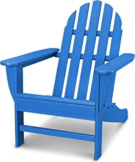 product image for Ivy Terrace IVAD4030LI Classics Adirondack Chair, Pacific Blue