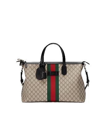 eadb8d4d5e03 Gucci Femme 359261KHNGN9692 Multicolore Toile Sac De Voyage  Amazon ...