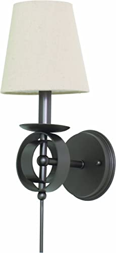 House of Troy Lighting LS202-MB Lake Shore 1-Light Wall Sconce