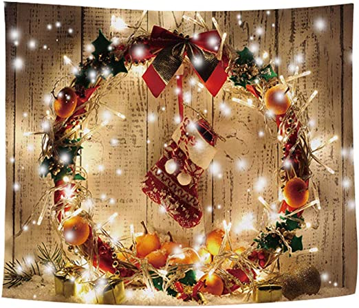 FREAHAP R - Tapiz de decoración navideña para Pared, decoración de ...