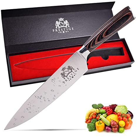 Amazon.com: Profesional cuchillo de chef: Kitchen & Dining
