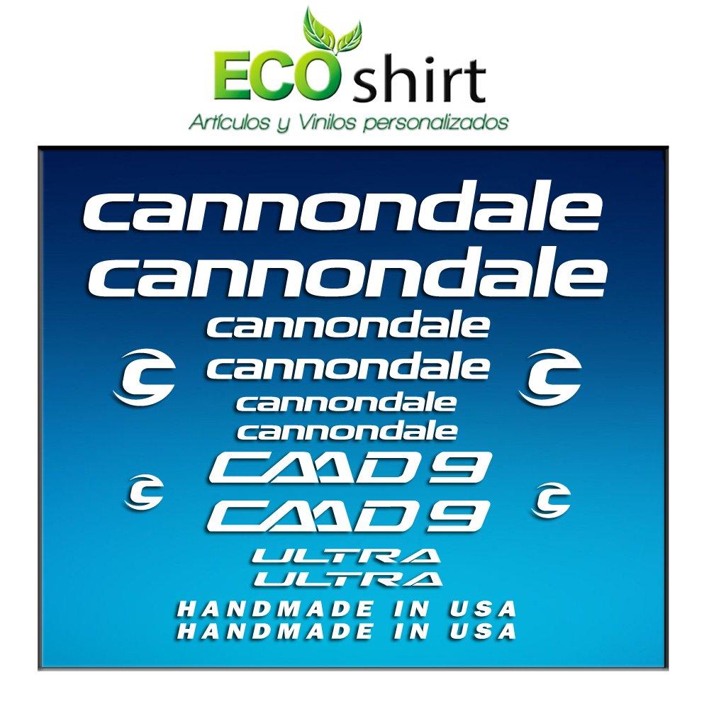 Ecoshirt C4-SDOD-IOJ8 Pegatinas Cuadro Frame Cannondale CADD 9 ...