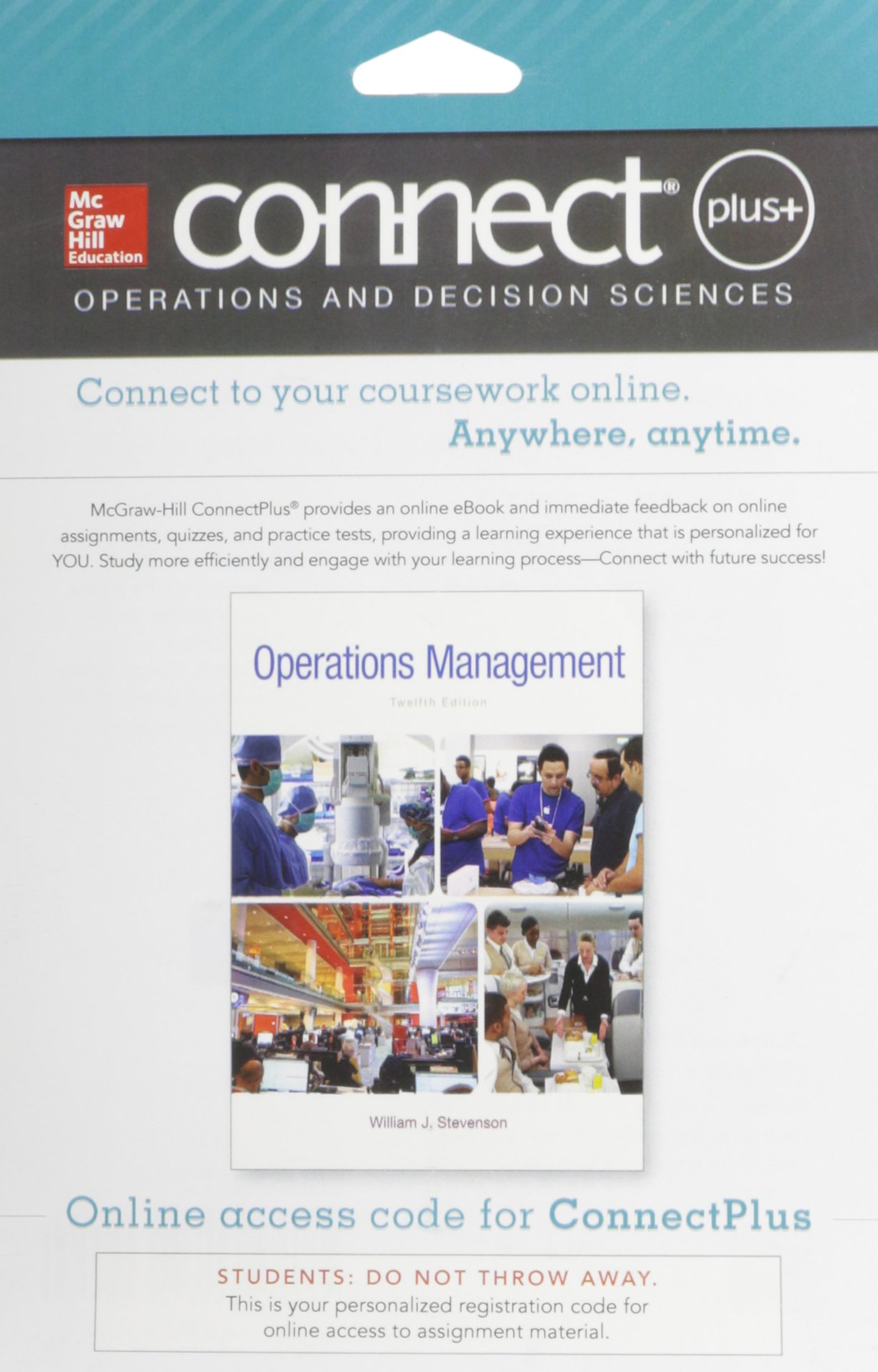 Connect 1-Semester Access Card for Operations Management: 9780077640354:  Amazon.com: Books