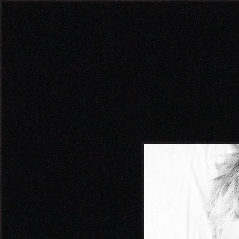 ArtToFrames 16x16 inch Black Satin Picture Frame, WOMCF-105-048C-16x16 by ArtToFrames