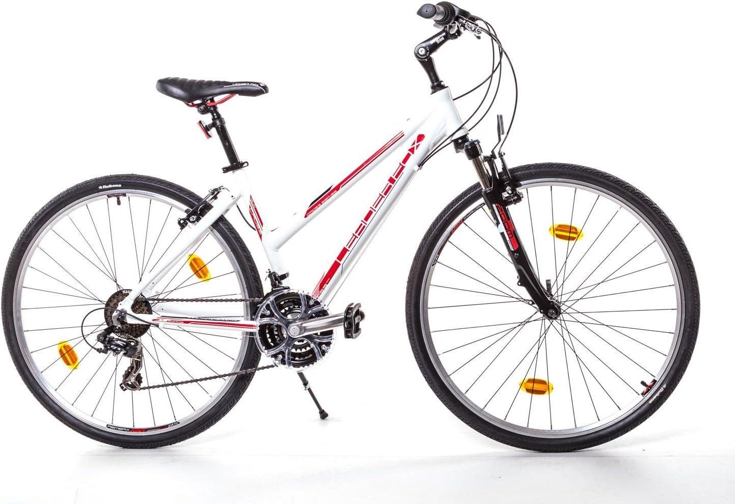 Leader Fox 28 pulgadas Aluminio Bicicleta de trekking Mujer Cross ...