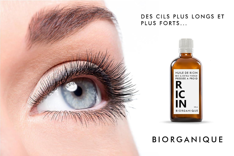 Aceite de ricino, 100 % puro, orgánico y natural, tratamiento para cabello, pestañas, uñas, piel, 50 ml: Amazon.es: Salud y cuidado personal