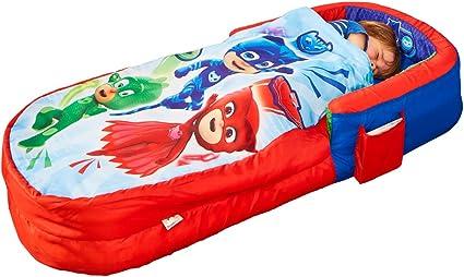 PJ Masks PJ Masks Mi Primer ReadyBed-Saco de Dormir y Cama Hinchable para niños, Multicolor, Talla única