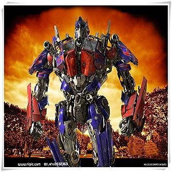 No band Animado de Transformers Optimus Prime Cartel, la educación temprana de los niños montaron Juego