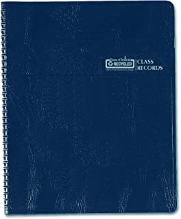 product image for House of Doolittle Class Record Book, Blue/White, 11 x 8 1/2