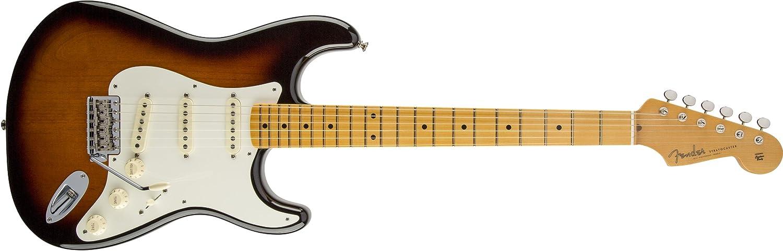 Fender 0117702801 Eric Johnson Stratocaster - Guitarra eléctrica para diapasón, color blanco