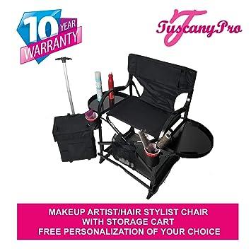 Amazon.com: mu2r Unique Toscana Pro maquillaje/silla de pelo ...