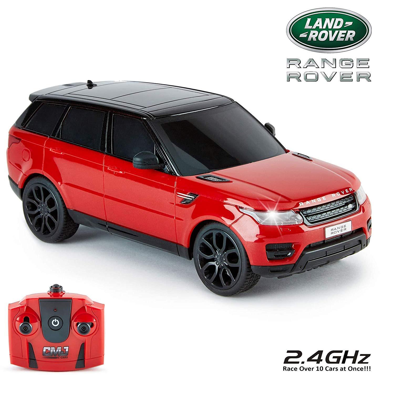 cmj RC CarsTM Range Rover Sport Offizielles Lizenzprodukt Fernbedienung Autos