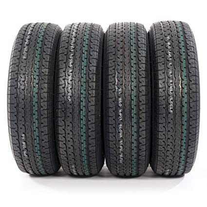 Amazon Com St225 75r15 Load Range E Radial Trailer Tires 10 Ply