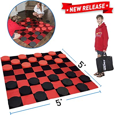 EasyGoProducts Giant Checkers Game